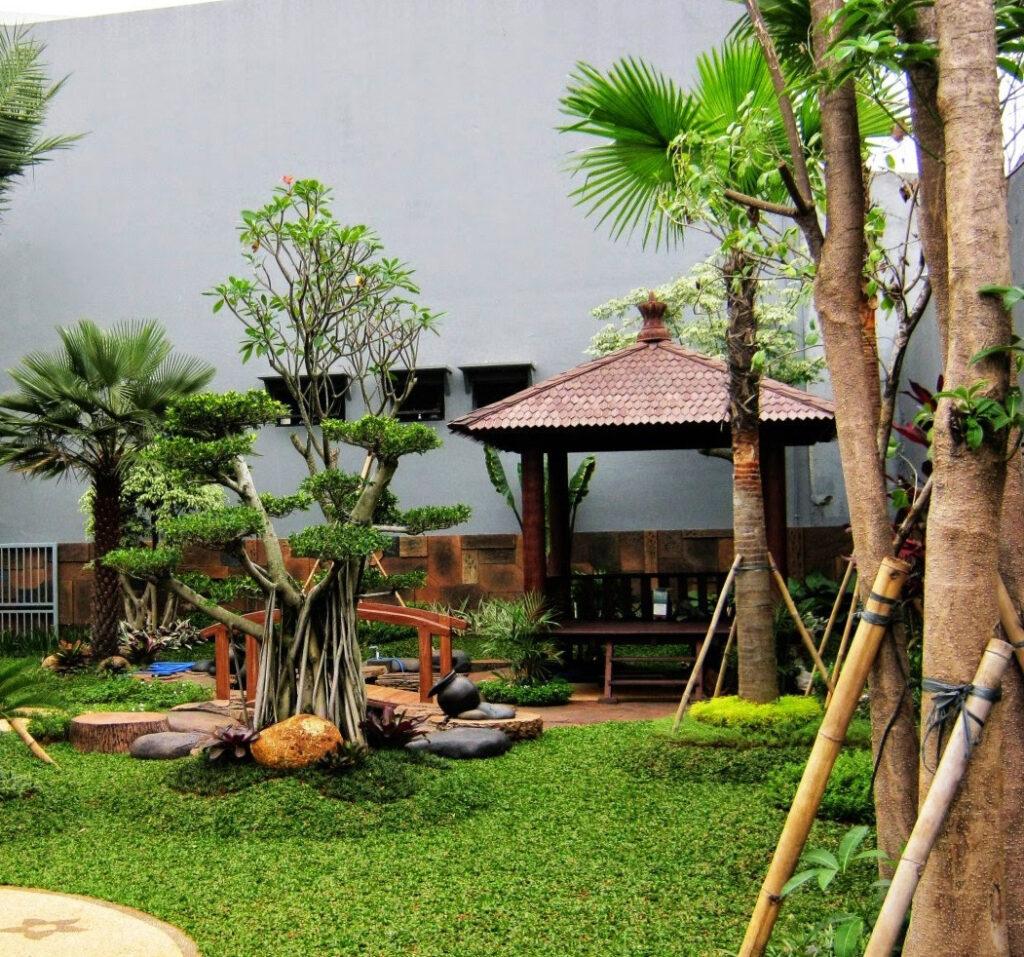 Jasa Kontraktor Taman Lanskap Terpercaya di Jawa Timur